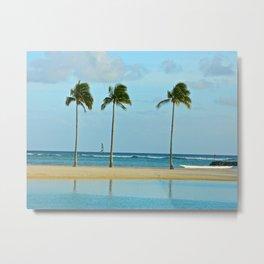 Beach Breeze Metal Print