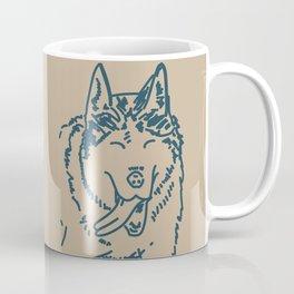 Happy Husky Coffee Mug