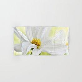 Cosmea white macro 037 Hand & Bath Towel