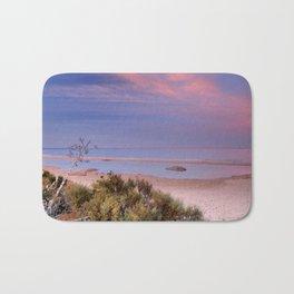 """""""Tarifa"""". Atlantic Ocean beach Bath Mat"""