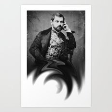 genius in ampulla Art Print