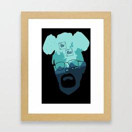 Heisenberg - Breaking Bad Framed Art Print