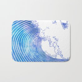 Pacific Waves III Bath Mat