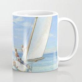 Edward Hopper Ground Swell 1939 Painting Coffee Mug