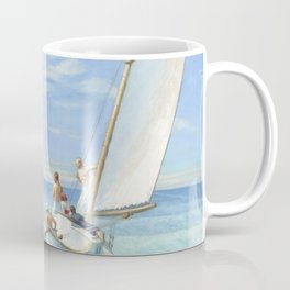 Edward Hopper Ground Swell 1939 Painting Coffee Mug
