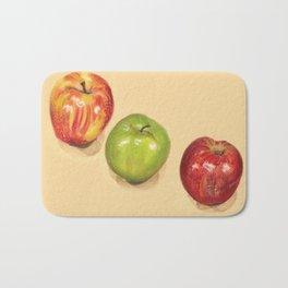 crispy apples Bath Mat
