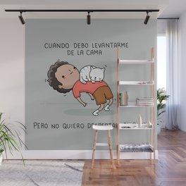 Cuidado con el gato Wall Mural