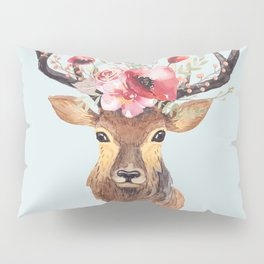 Bohemian Deer 2 Pillow Sham