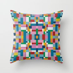 Map Tex #2 Throw Pillow