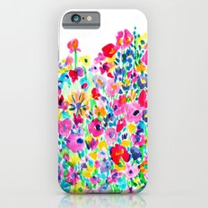 Flower Fields Pink Slim Case iPhone 6
