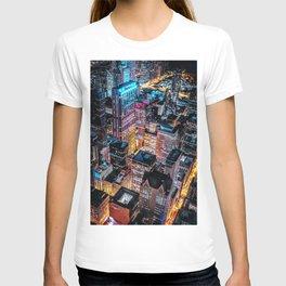 New York at night T-shirt
