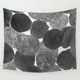 Abstract Gray Wall Tapestry