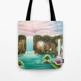Hidden Oasis Tote Bag