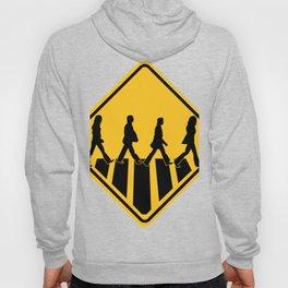 Famous Band Walk Road Sign | Design Hoody