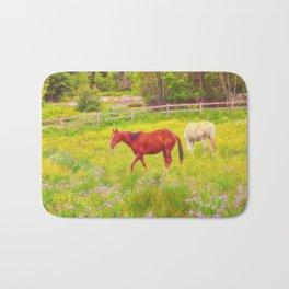 Horses Paradise Bath Mat