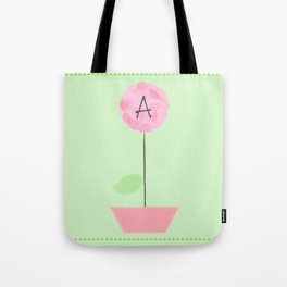 Flower A Tote Bag