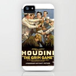Houdini Movie Poster iPhone Case