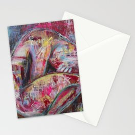 How the Sadness Swells/I Recall A Wonderful Moment (Pushkin) Stationery Cards