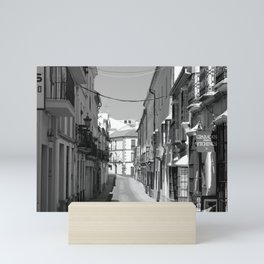 Streets of Ronda, Spain Mini Art Print