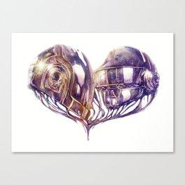 Daft Punk of Love Canvas Print