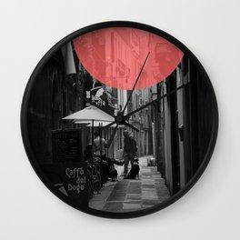 Venice Caffe del doge Wall Clock
