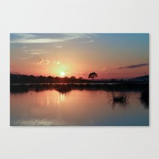 While You Were Sleeping Canvas Print