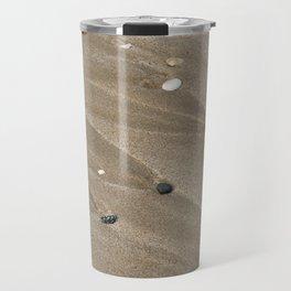 Pebbles and Sand Travel Mug