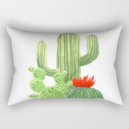 Perfect Cactus Bunch Rectangular Pillow