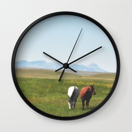 Free Reign Wall Clock
