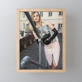 Did You Hear the News Today? Framed Mini Art Print