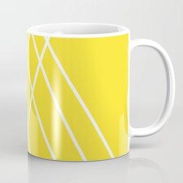 Yellow Minimalist Abstract Pattern Coffee Mug