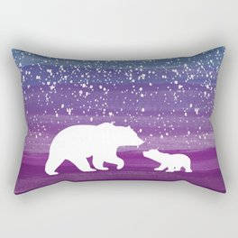 Bears from the Purple Dream Rectangular Pillow