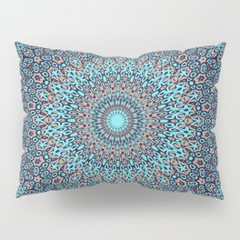 Tracery colorful pattern Pillow Sham