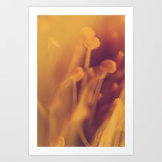 Gold Dream. Art Print