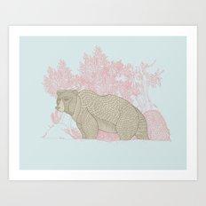 Bear! Art Print