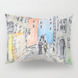 Italian street Pillow Sham