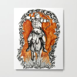 The fair huntsman Metal Print