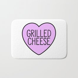 Love Grilled Cheese Bath Mat