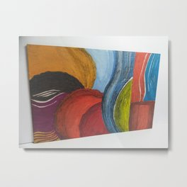 Bumble - A different look at Abstract Art Metal Print