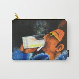 """HERE'S TO FEELIN' GOOD ALL THE TIME"" Carry-All Pouch"