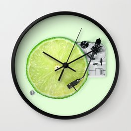 LIME DJ Wall Clock
