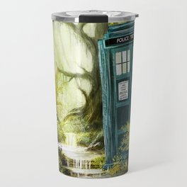 Doctor Who - Tardis in the Woods II Travel Mug