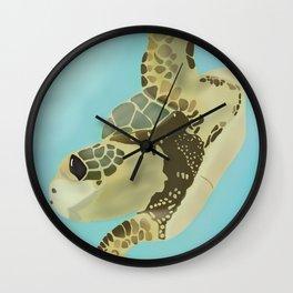 Just Keep Swimming! Wall Clock