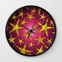 Star Burst Wall Clock