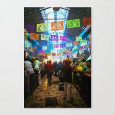 Mexican Market Canvas Print