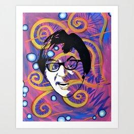 Yeah, Baby!  Art Print