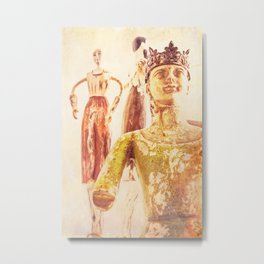 King and Subjects Metal Print