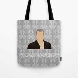 His Last Vow - Greg Lestrade Tote Bag