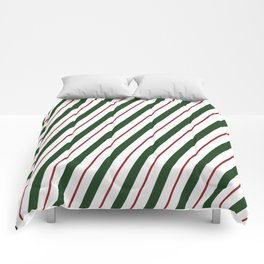 Peppermint Candy Cane Comforters