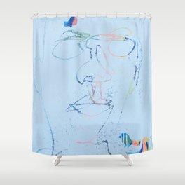 bird man Shower Curtain